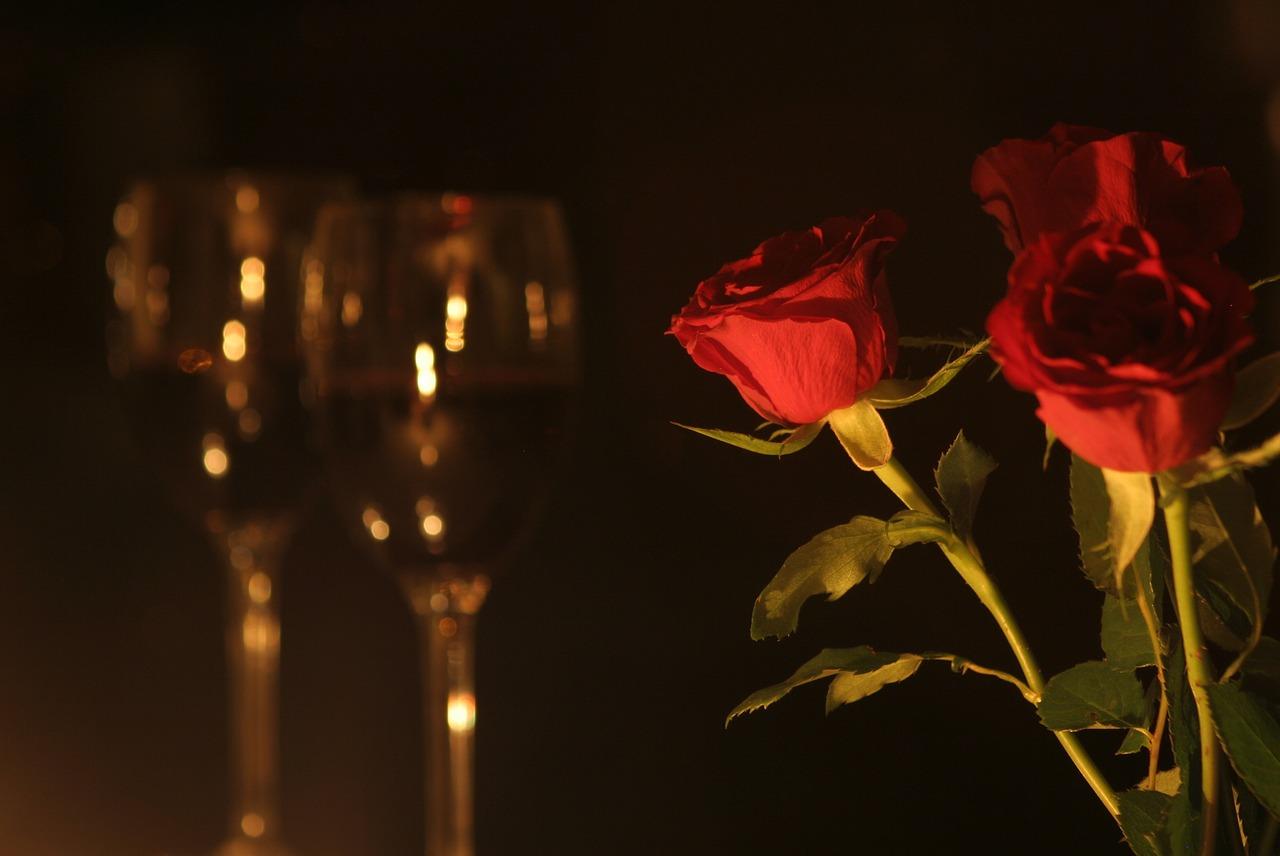 Todos los detalles para una cena romántica